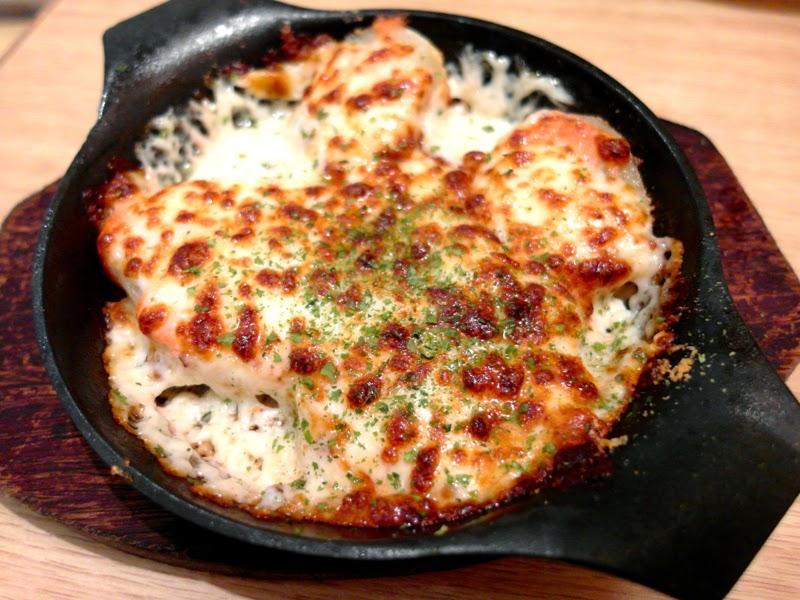 Pasta De Waraku Restaurant Changi Airport Terminal 2 Japanese Food Potato Mentai Cheese Review lunarrive blog Singapore