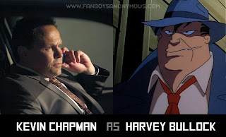 Batman Fancast Harvey Bullock Kevin Chapman Fusco from Person of Interest
