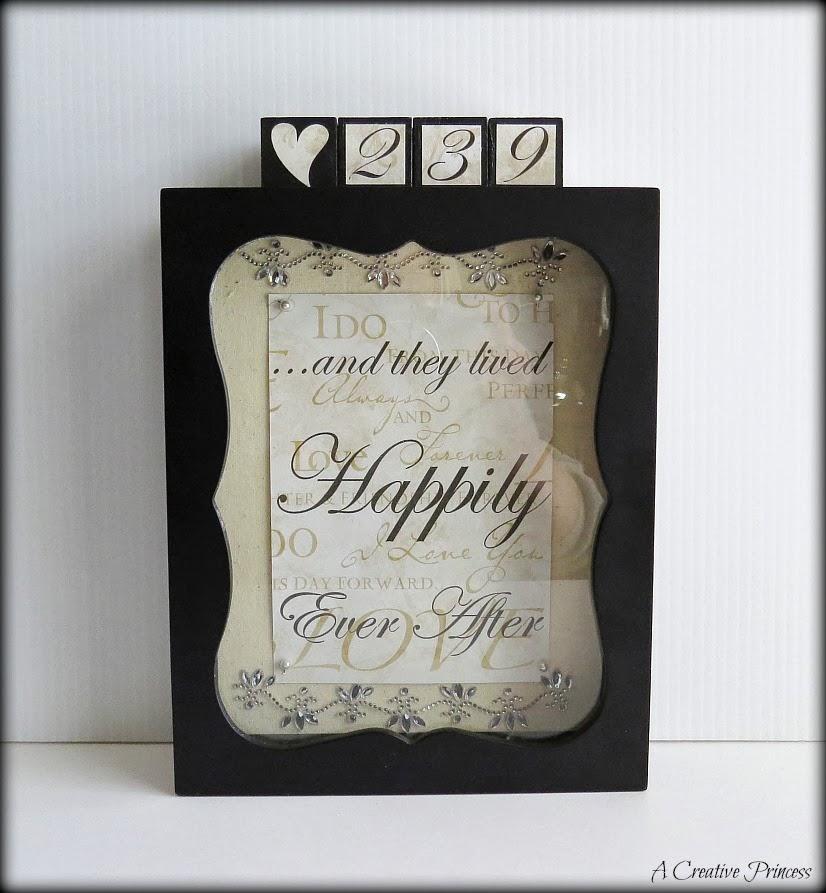http://acreativeprincess.blogspot.com/2014/02/wedding-date-countdown.html