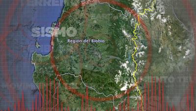 SISMO 5,5 GRADOS EN CHILE, 26 DE DICIEMBRE 2012