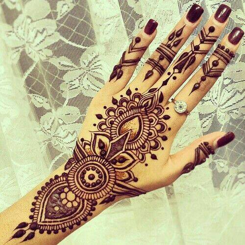 Mehndi Patterns We Heart It : Awesome indian mehndi designs pics simple henna