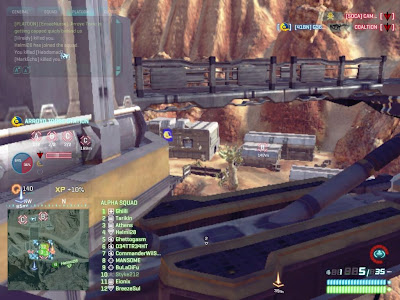 PlanetSide 2 - Facility Points Under Capture