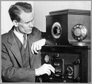 "Philo Farnsworth: ""Here you go: Electronic Television"""