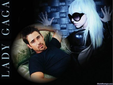 Fotomontaje Lady Gaga
