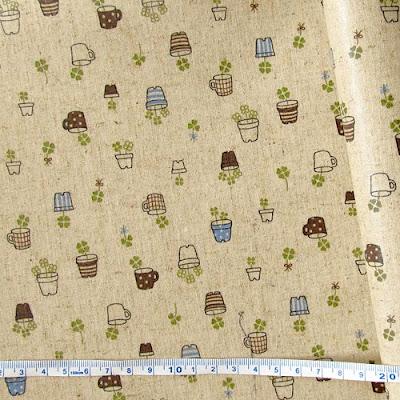 корейские ткани, лен с покрытием