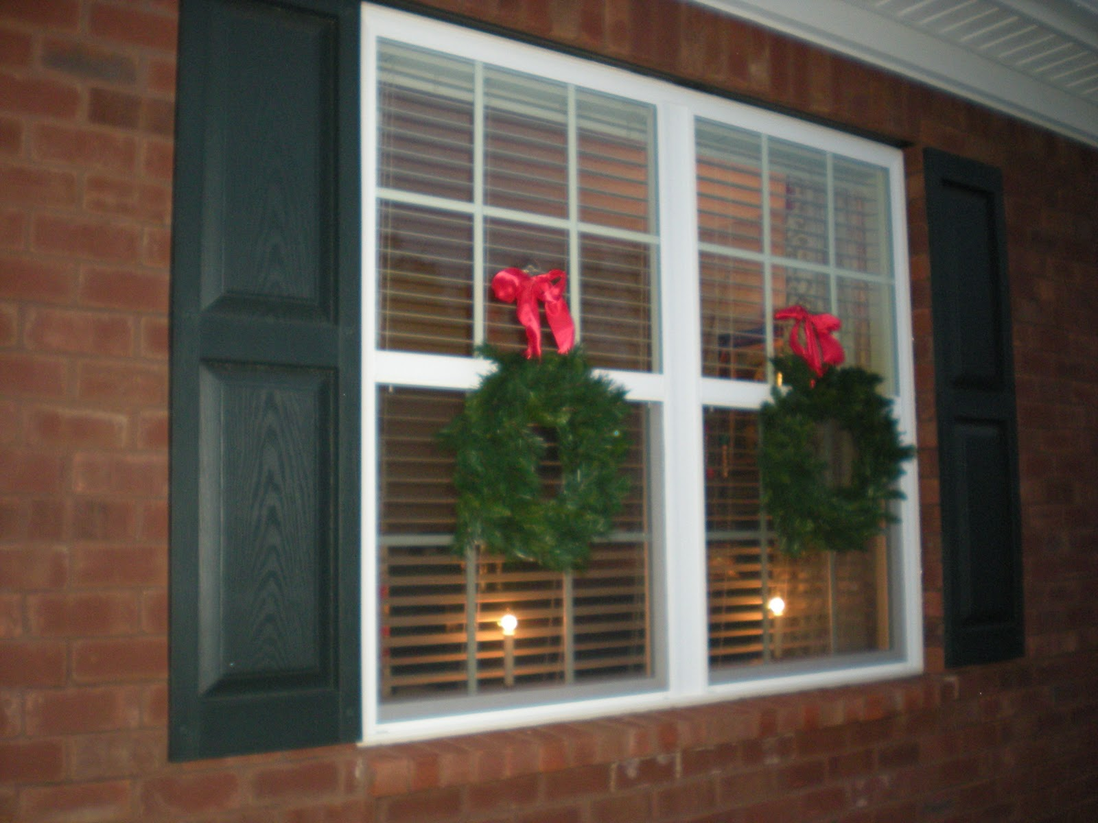 Outside Window Decorations The Good Life Deck The Halls