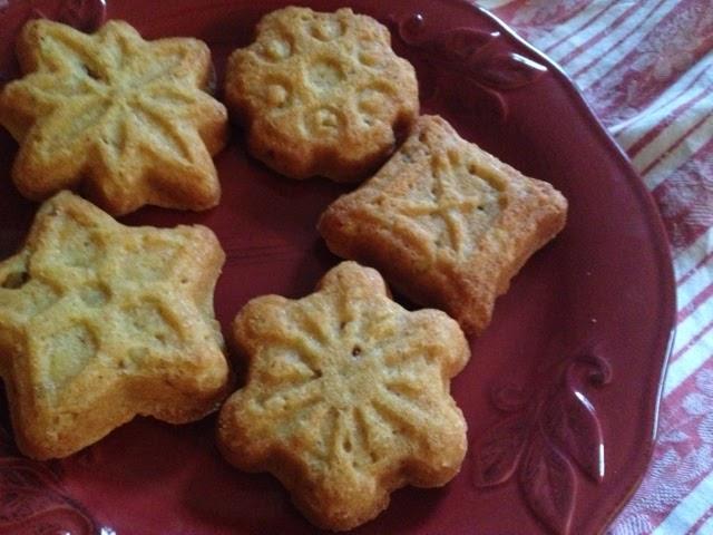Clever Karen: Orange Pecan Snowflake Cookies