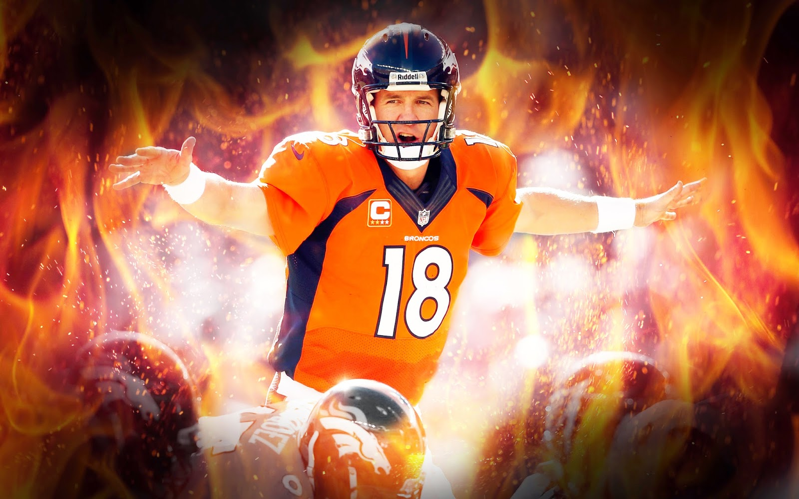 Illpapers sports highlights news videos wallpapers new peyton manning wallpaper broncos superbowl voltagebd Choice Image