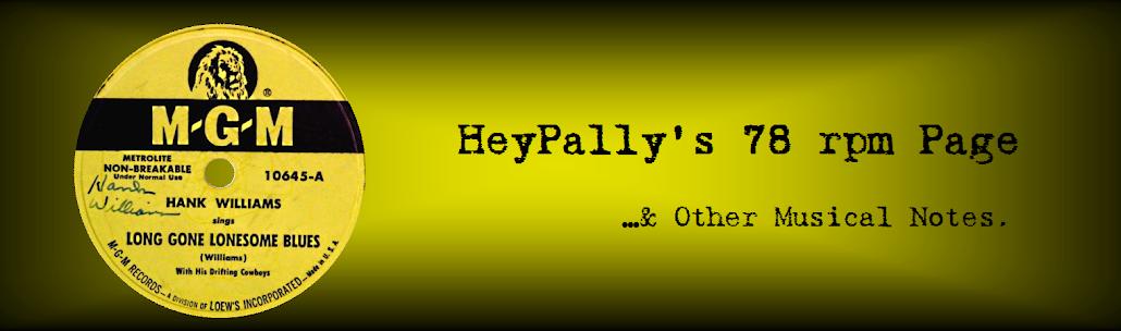 Heypally's 78 RPMs