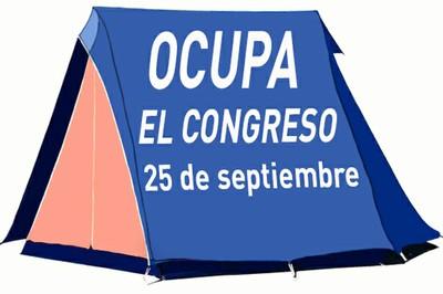 La ocupación del Congreso el 25-S dispara alarmas y guerras internas