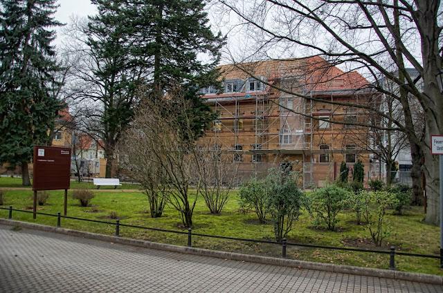 Baustelle Thüringerallee / Masurenallee, 14052 Berlin 02.01.2014