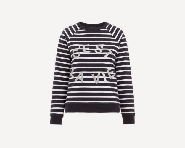 whistles striped jumper