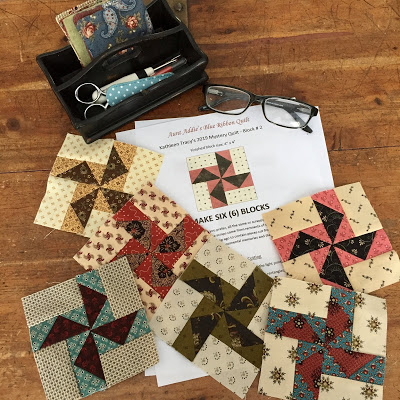SAL Patch - Country Lane Quilts - Mystery 2019