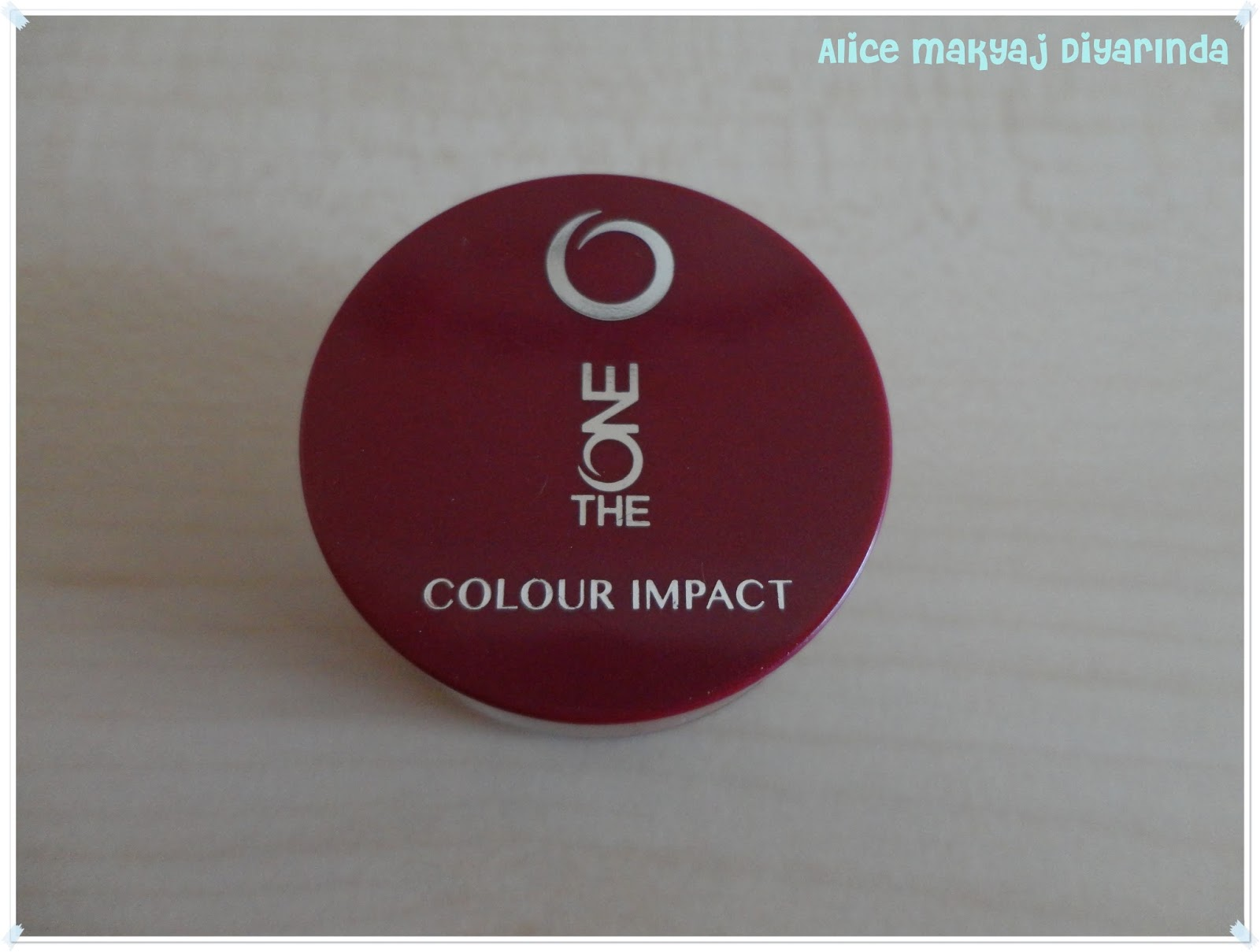 Oriflame The One Colour Impact Krem Göz Farı- Golden Brown