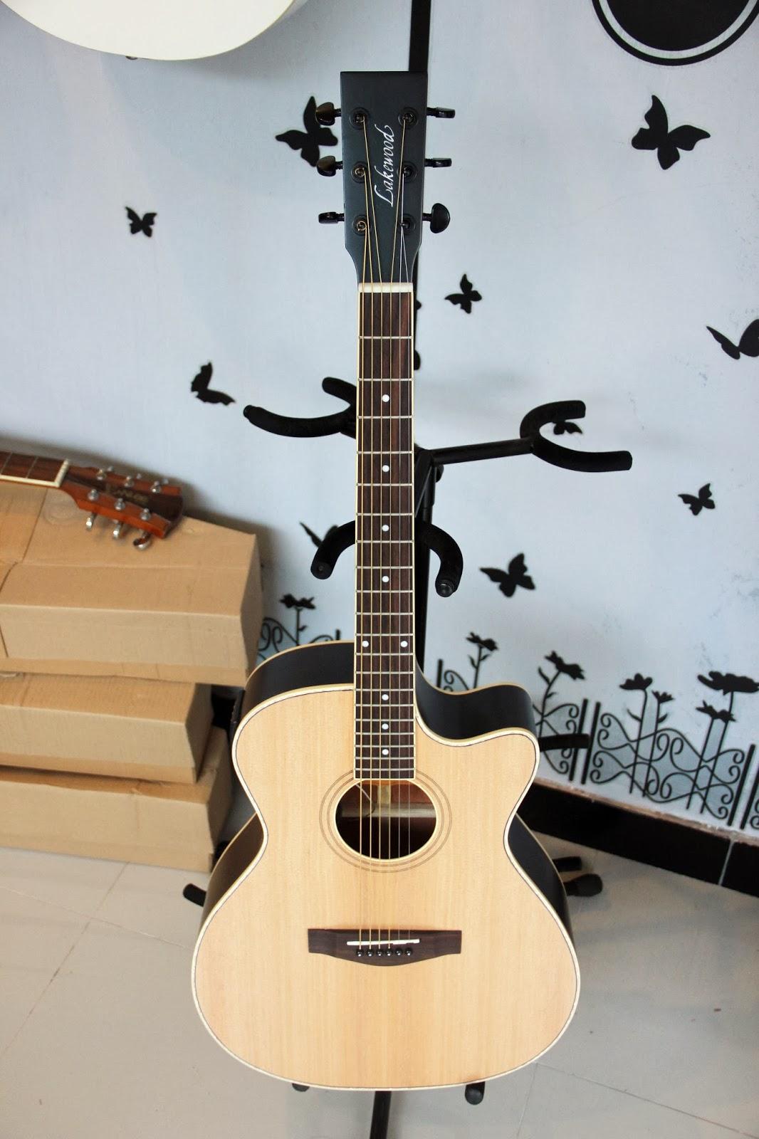 Jual Gitar Lakewood Acoustic Electric Custom