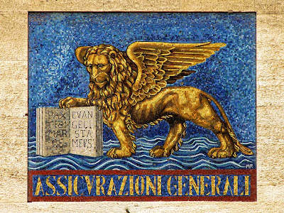Assicurazioni Generali winged lion, Livorno