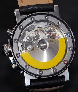 calibre ETA montre Ossau TCA 09