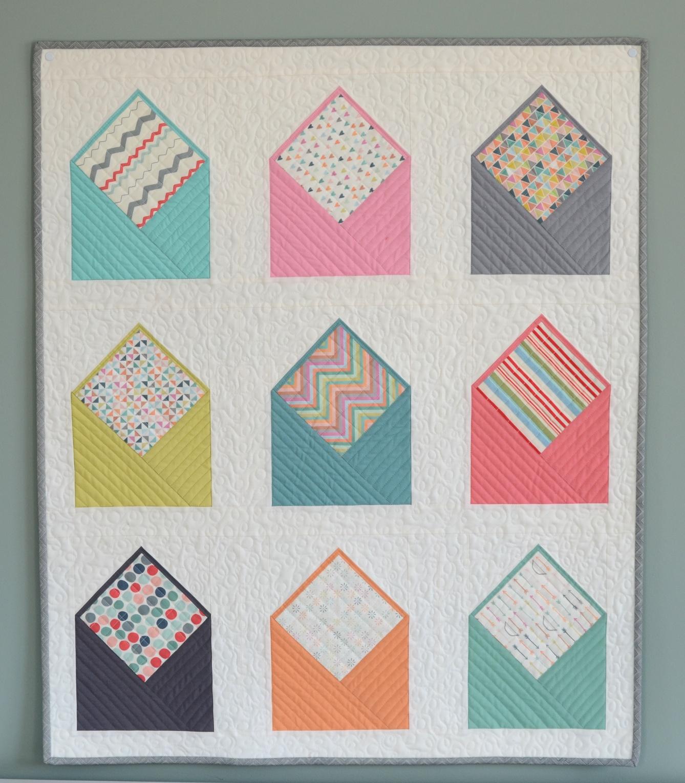 Hyacinth Quilt Designs: Envelope Quilt! : envelope quilt pattern - Adamdwight.com