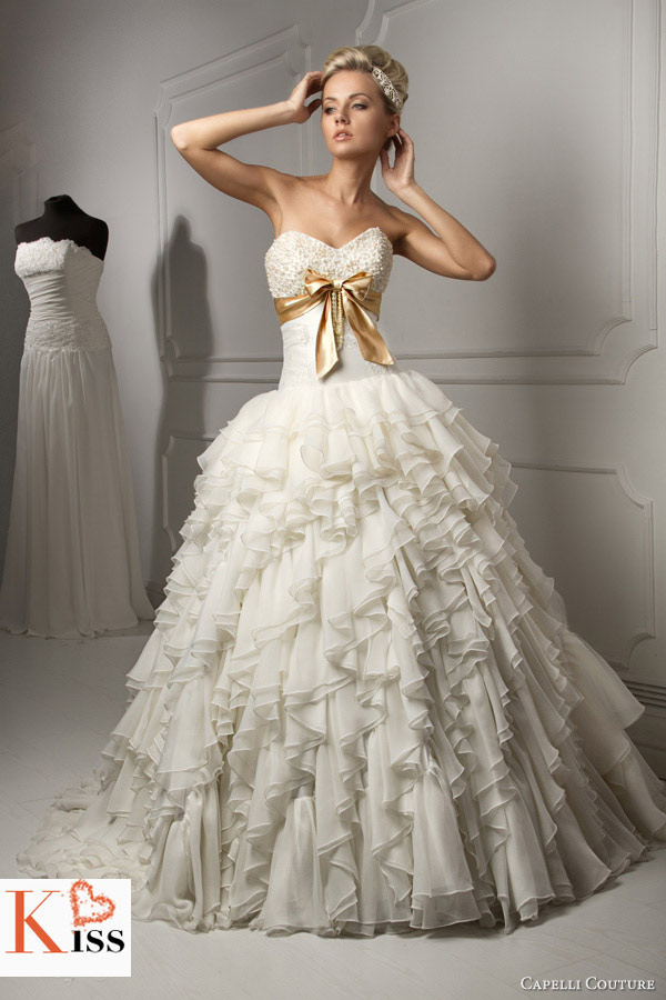 2013 Wedding Dresses From Capelli Couture