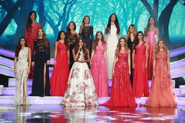 فاليري أبو شقرا ملكة جمال لبنان  ٢٠١٥