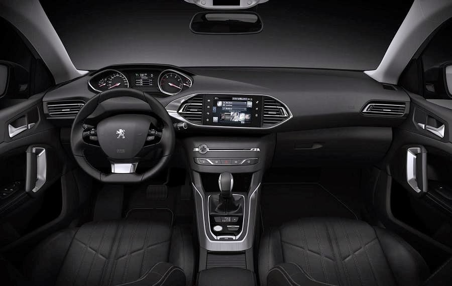 Peugeot 308 SW (2014) Dashboard