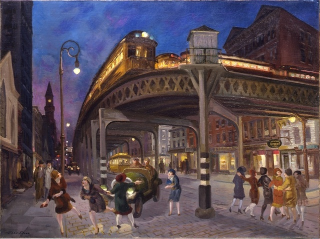 1928 Sixth Avenue Elevated at Third Street