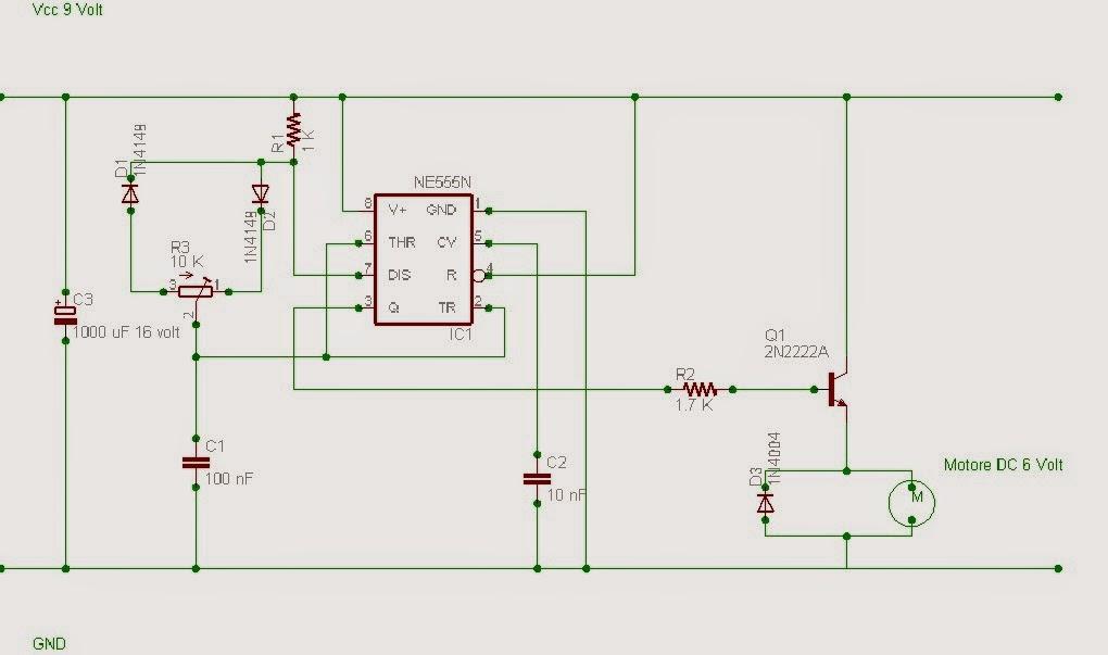 Schema Elettrico Regolatore Per Motori Brushless : Schema elettrico regolatore pwm led pwm調光電路 宇若彎彎 痞客邦