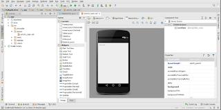 langkah kelima membuat aplikasi dengan android studio