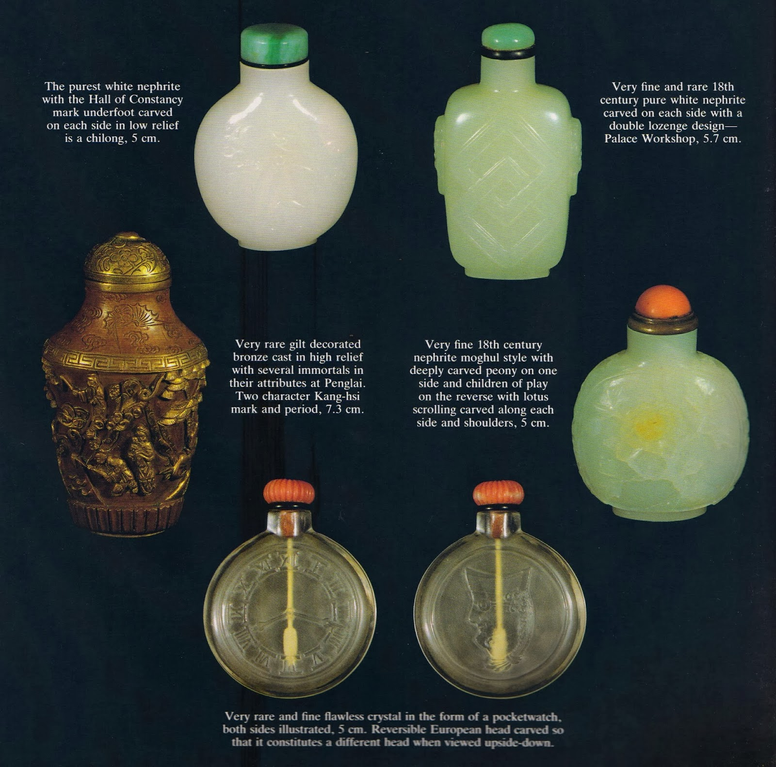 Still Pictures Are All Very Fine And >> Emperors Antique Five Very Fine Snuff Bottles All Measurements