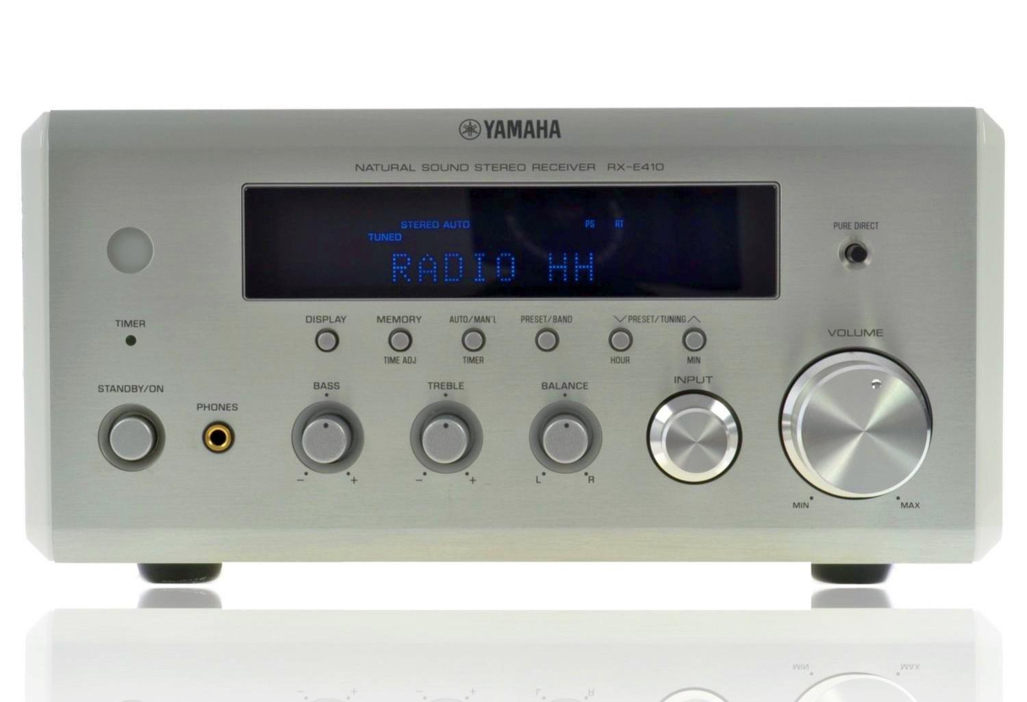Yamaha rx e410 stereo receiver audiobaza for Yamaha receiver customer support phone number