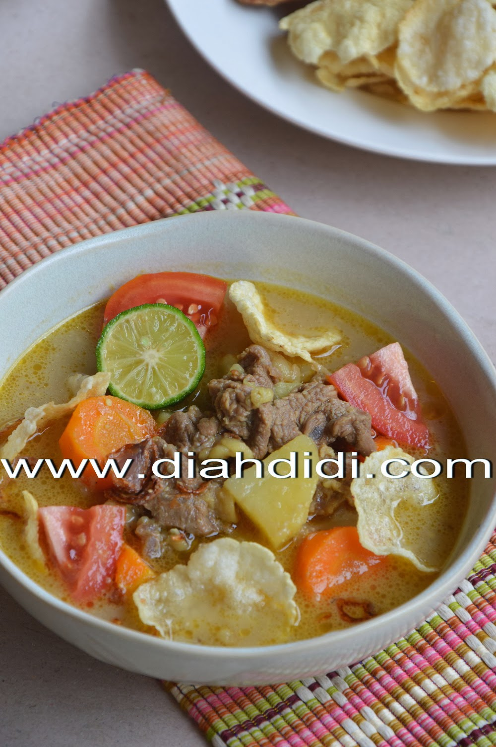 Diah Didi S Kitchen Soto Betawi Daging