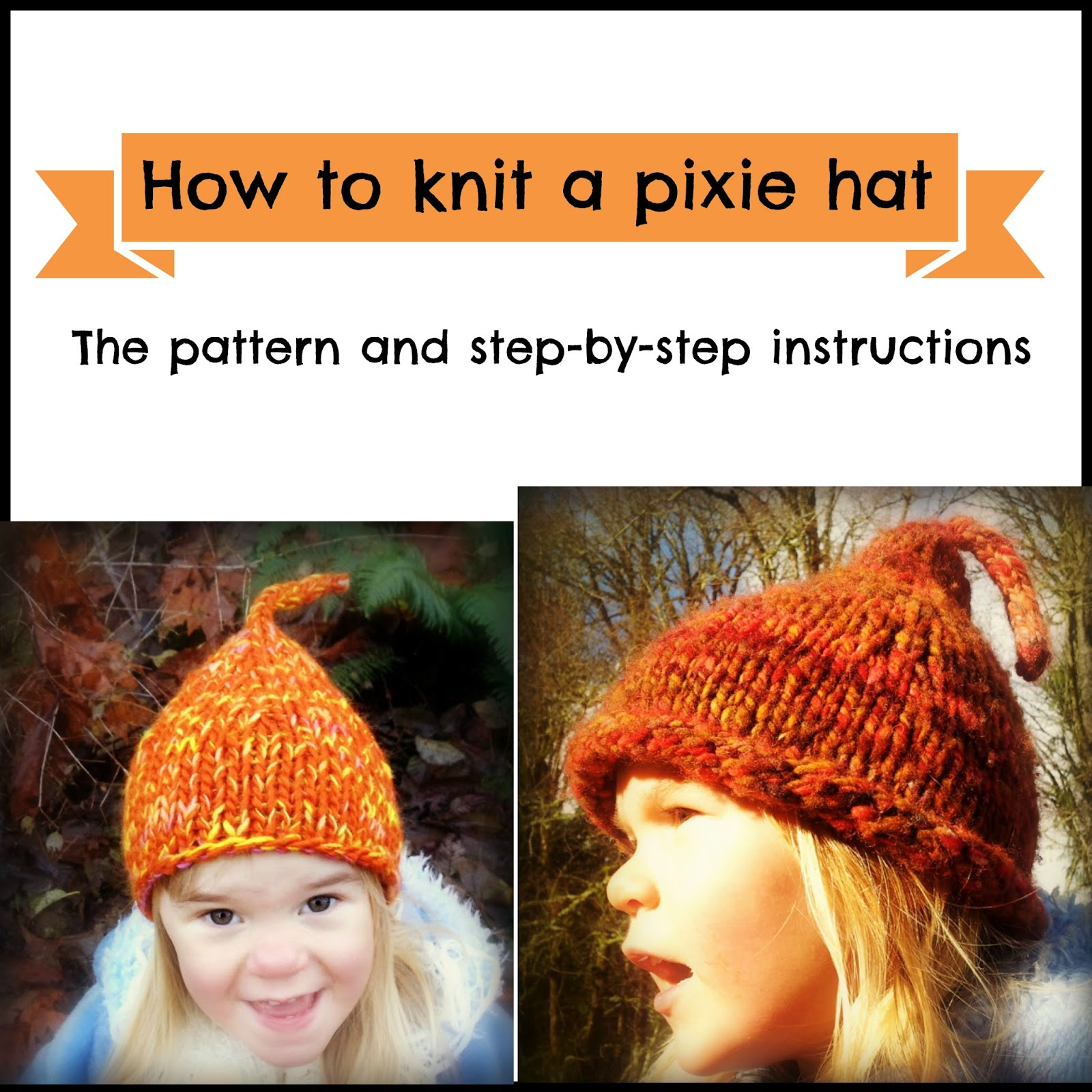 How to knit a pixi hat