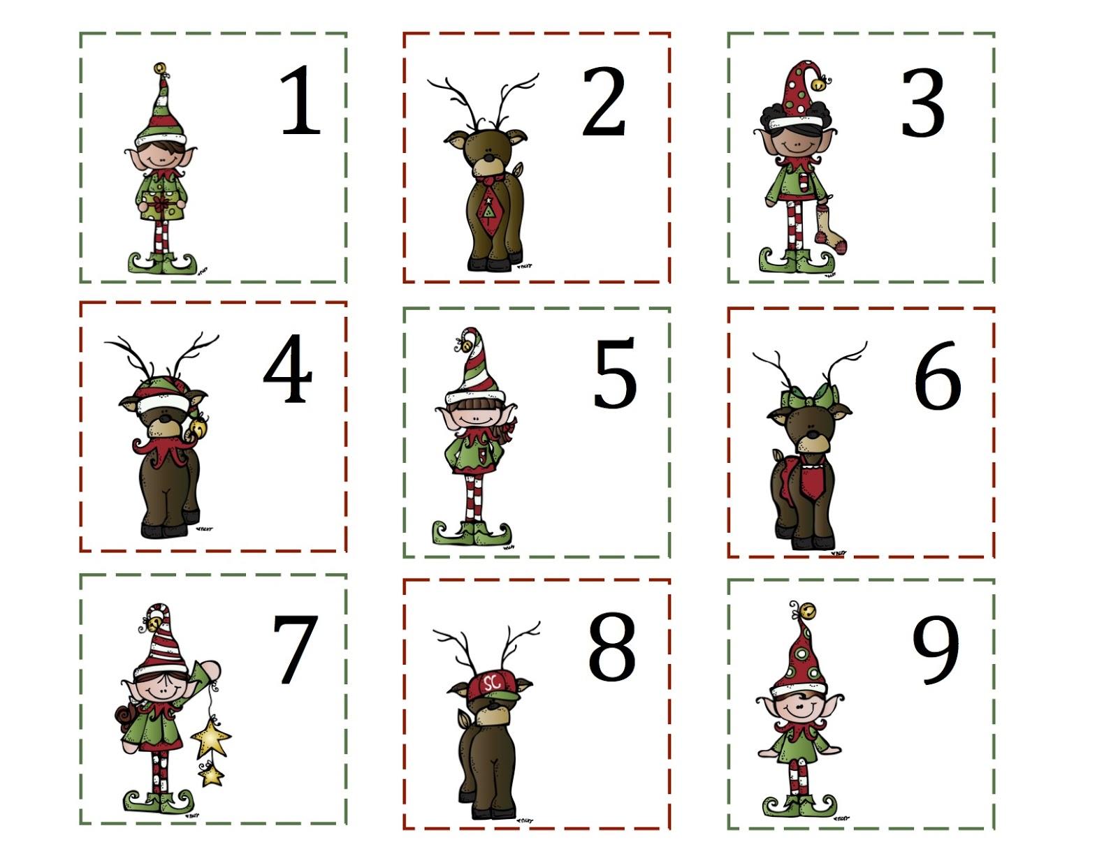 1600 x 1236 jpeg 203kB, Preschool Printables: Reindeer & Elf Number ...