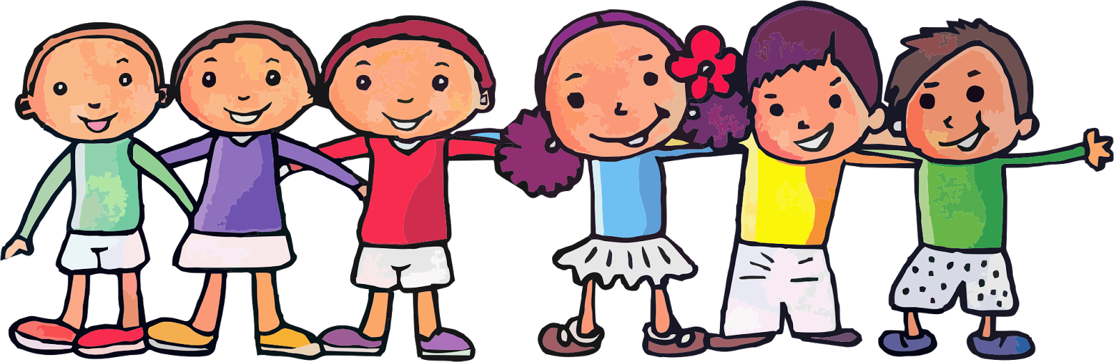 happy kids clipart | Hostted
