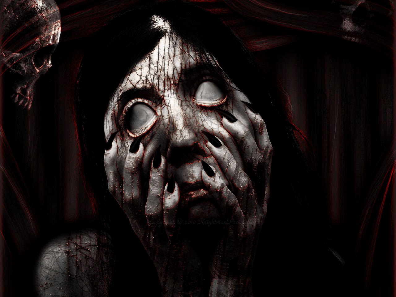 Wallpapers de terror - Halloween | Colorear a Heidi