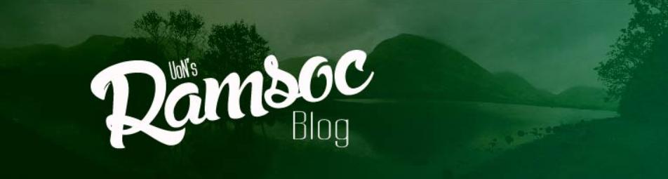 UoN's RAMSOC Blog