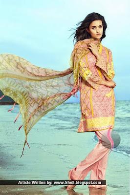 Khadijah Shah - Sapphire Eid Collection 2015
