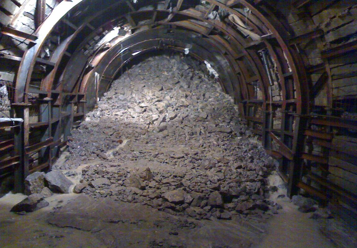 Excavation Of Tunnels In Extremely Weak Rock Mass With