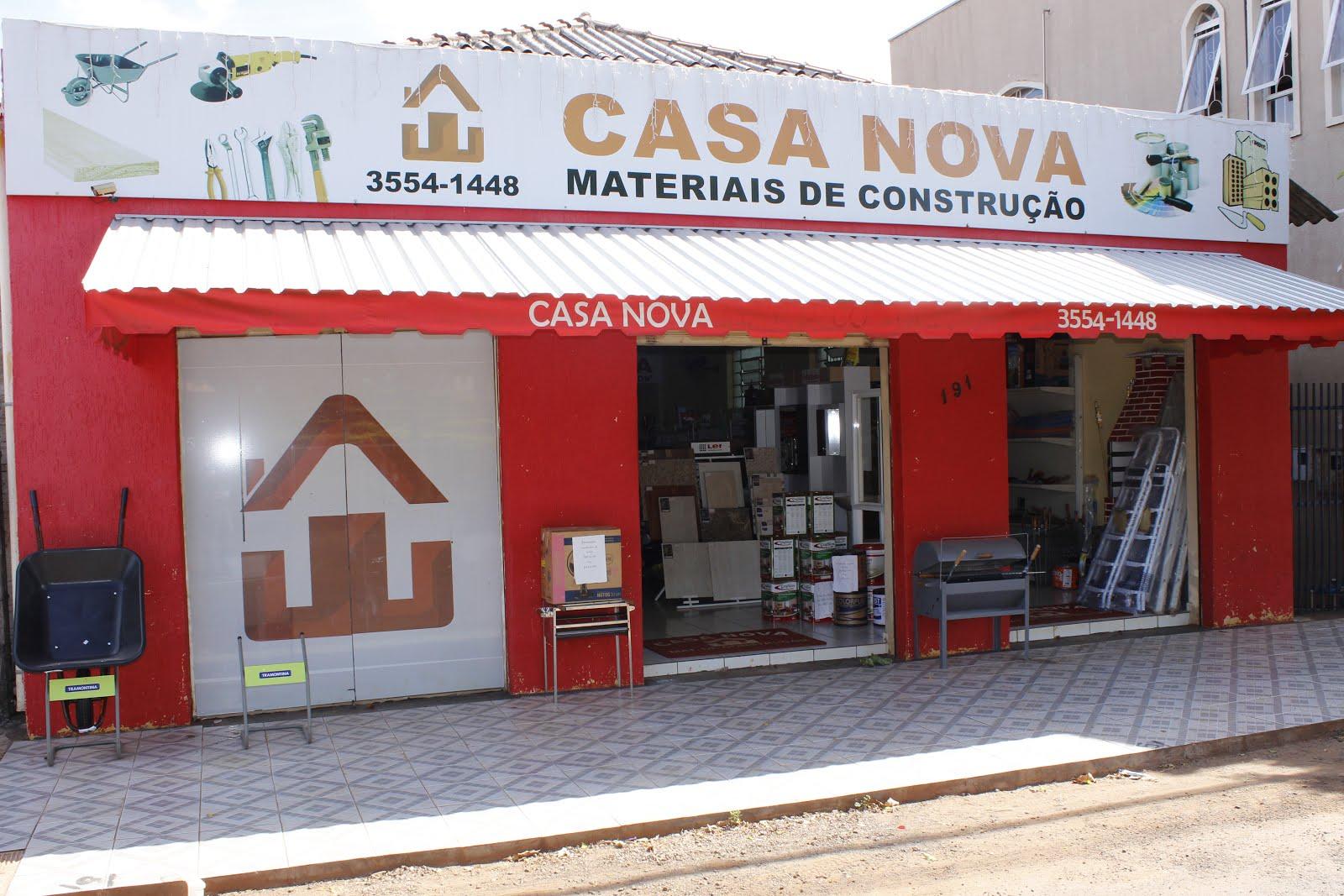 CASA NOVA MATERIAIS DE CONSTRUÇÃO.