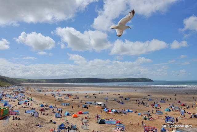 Woolacombe Beach, England