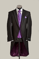 mens exclusive silk designer morning tail suit from jack bunneys