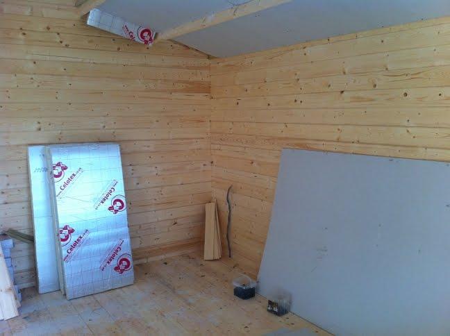 Thirsk Log Cabin Installation Garden Log Cabin Installed