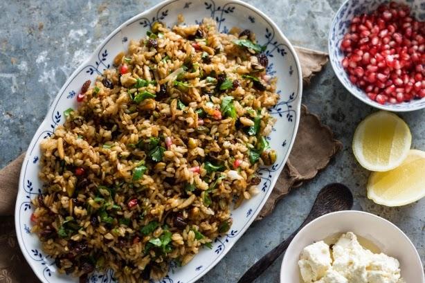 Persian Rice Recipe — Dishmaps