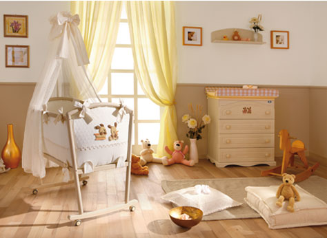 Dormitorios de beb en chocolate blanco y beige ideas for Paginas para disenar habitaciones