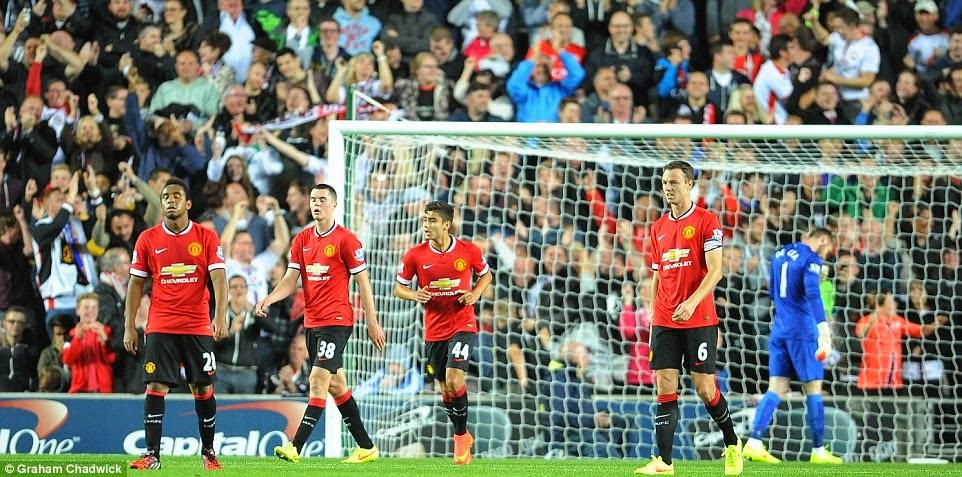 Manchester United CIpta Sejarah Baru Kali Ini Dimalukan Kelab Divisyen 3
