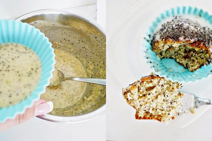Lemon Poppyseed Muffins [Zitronen-Mohnmuffins]