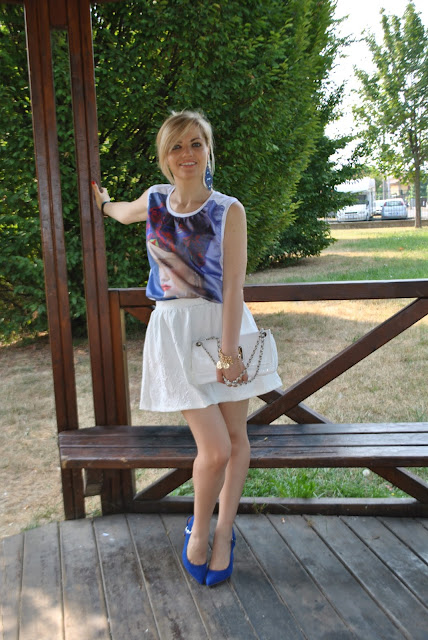 outfit bianco e blu abbinamenti bianco e blu come abbinare il bianco e blu outfit blu e bianco come abbinare il blu e bianco mariafelicia magno fashion blogger colorblock by felym blog di moda italiani blogger italiane di moda fashion blog italiani outfit 17 luglio 2015 outfit luglio 2015 outfit estivi outfit estate 2015 outfit  estivi donna outfit eleganti donna summer outfit july outfits white outfit blue outfit how to wear white fashion bloggers italy