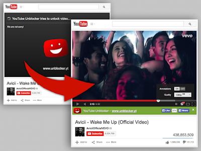 Unlock Youtube videos using this