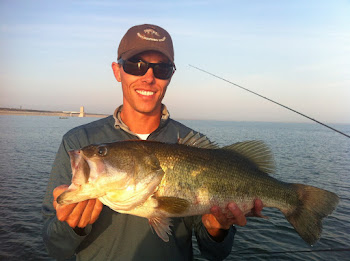 Rick's 7 lb 10 oz Falcon Lake, Texas Largemouth