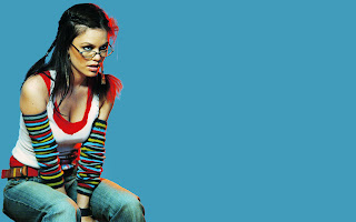 Beautiful Rachel Bilson with Glasses HD Wallpaper
